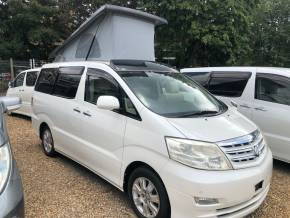 Toyota Alphard 2.4 Mistral Camper Motorhome Petrol Pearl White at Camper Van Centre Southampton