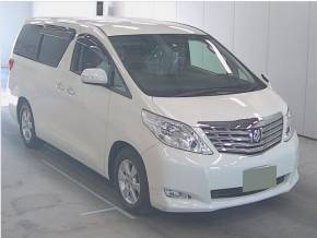 Toyota Alphard NEW SHAPE 2.4 Mistral Campervan Motorhome Petrol Pearlescent Whie at Camper Van Centre Southampton