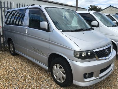 Mazda Bongo 2.0 Aero City Runner *LPG Conversion Available* MPV Petrol Metallic SilverMazda Bongo 2.0 Aero City Runner *LPG Conversion Available* MPV Petrol Metallic Silver at Camper Van Centre Southampton