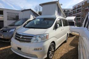 Toyota Alphard 2.4 Mistral Camper 4x4 Motorhome Petrol Pearl White at Camper Van Centre Southampton