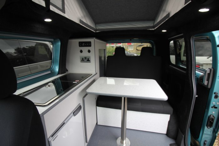 used nissan nv200 mistral camper petrol automatic for sale. Black Bedroom Furniture Sets. Home Design Ideas