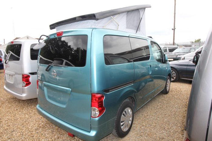 Nissan NV200 1.6 Mistral Camper Petrol Automatic Motorhome Petrol Metallic Turquoise