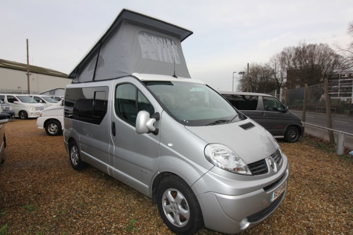 used renault trafic sl27dci 115 sport sat nav mistral camper for sale in southampton hampshire. Black Bedroom Furniture Sets. Home Design Ideas