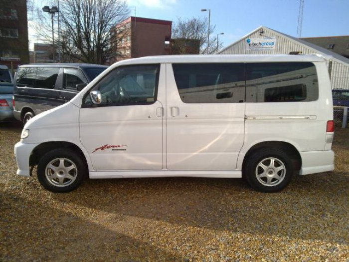 Mazda Bongo 2.0 2006 Bongo Aero LPG conversion available MPV Petrol White